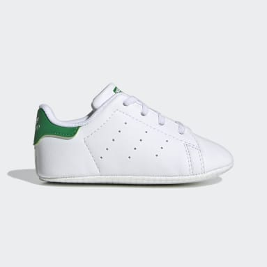 Infant & Toddler Originals White Stan Smith Crib Shoes