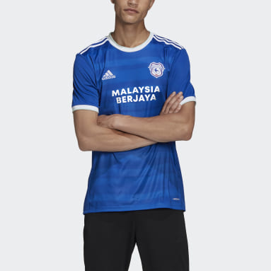 Football Blue Cardiff City FC 20/21 Home Jersey