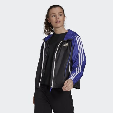 Women City Outdoor Purple BSC 3-Stripes Wind Jacket