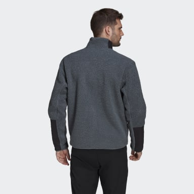 Men TERREX Blue Terrex Sherpa Fleece Jacket