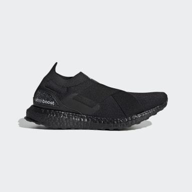 Women Running Black Ultraboost Slip-On Swarovski® DNA Shoes