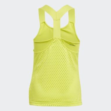Camisola de Alças em Y Primeblue Tennis HEAT.RDY Amarelo Raparigas Ténis