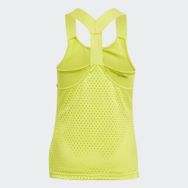 Girls Tennis Yellow HEAT.RDY Primeblue Tennis Y-Tank Top