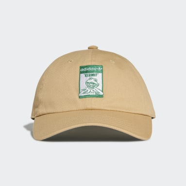 Casquette Not Easy Being Green Dad Beige Originals