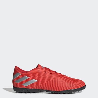 Calzado de Fútbol Nemeziz 19.4 Césped Artificial Rojo Hombre Fútbol