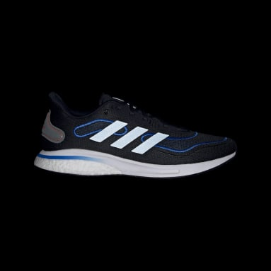 Men Running Black Supernova Shoes
