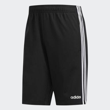 Shorts Essentials 3-Stripes Preto Homem Essentials