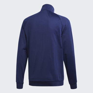 Men Gym & Training Blue Core 18 Track Top