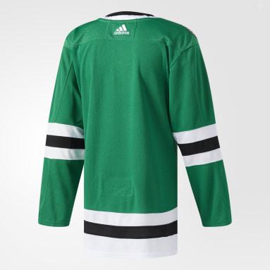 Men's Hockey Green Stars Home Authentic Pro Jersey