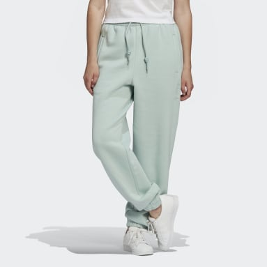 Women Originals Green Cuffed Joggers