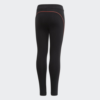 Tight Cotton Noir Filles Fitness Et Training