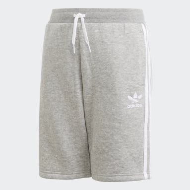 Pantalón corto Fleece Gris Niño Originals