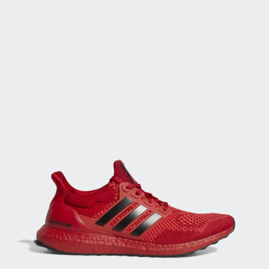Running Red Nebraska Huskers Ultraboost 1.0 DNA Shoes