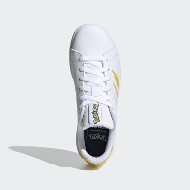 Tenis Advantage (UNISEX) Blanco Niño Diseño Deportivo