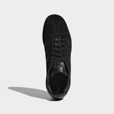 Kvinder Originals Sort Gazelle sko