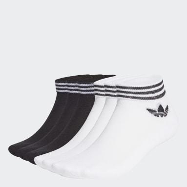 Calcetines Tobilleros Trifolio 6 Pares Blanco Originals