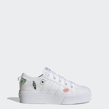 Børn Originals Hvid Nizza Platform sko