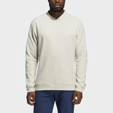 Sweat-shirt Go-To Crewneck Beige Hommes Golf