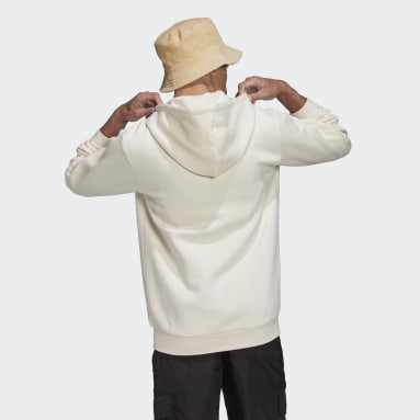 Veste de survêtement à capuche Adicolor 3-Stripes blanc Hommes Originals