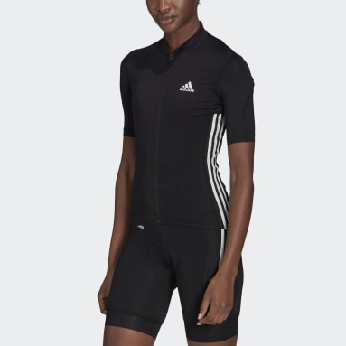 Women Cycling Black The Short Sleeve Cycling Jersey