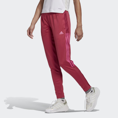 Women Football Pink Tiro 21 Tracksuit Bottoms