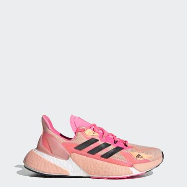 ผู้หญิง วิ่ง สีชมพู รองเท้า X9000L4 HEAT.RDY