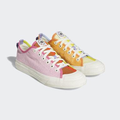Men Originals Orange Nizza Pride Shoes