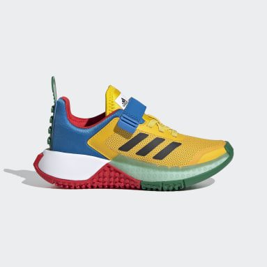 Kids 4-8 Years Running Yellow adidas x LEGO® Sport Shoes