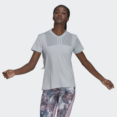 Women's Training Blue adidas x Zoe Saldana AEROREADY Tee