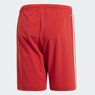 Men Football Red Condivo 18 Shorts