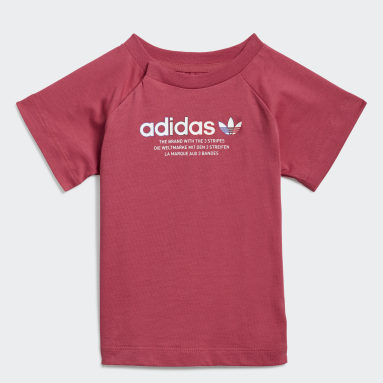 Børn Originals Pink Adicolor Graphic T-shirt