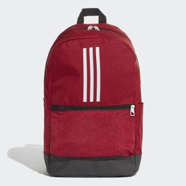 Gym & Training Burgundy Classic 3-Stripes Backpack