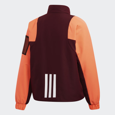 Women City Outdoor Burgundy BTS Lined Winter Jacket