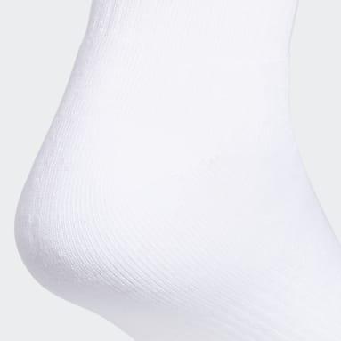 Men's Originals White Trefoil Quarter Socks 6 Pairs