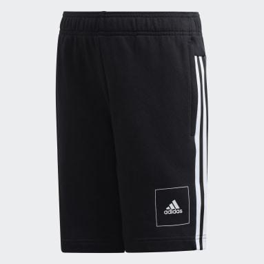Youth 8-16 Years Sportswear Black Shorts