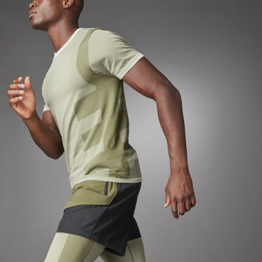 Studio Techfit Seamless Short Sleeve Tee Bialy