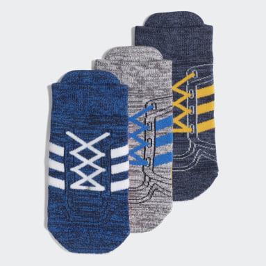 Infant & Toddler Training Blue Socks 3 Pairs