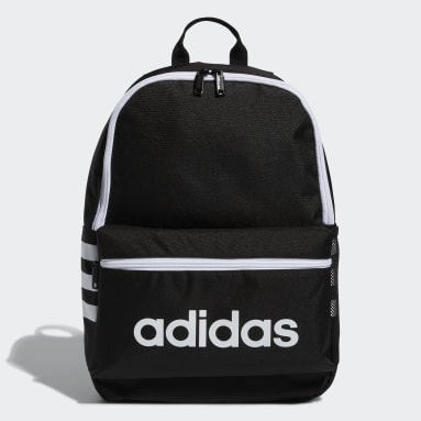 Children Essentials Black Classic 3-Stripes Backpack
