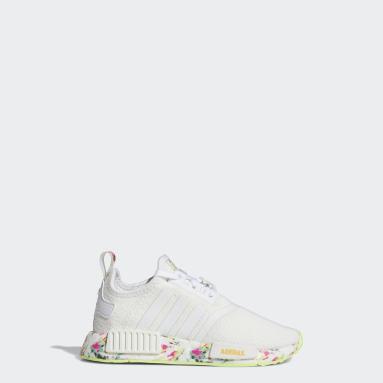 Children Originals White NMD_R1 Shoes