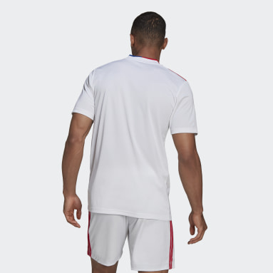 Camiseta primera equipación Olympique de Lyon 21/22 Blanco Hombre Fútbol