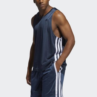 Men's Basketball Blue Summer Legend Tank Top