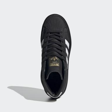 черный Высокие кроссовки 424 Pro Model