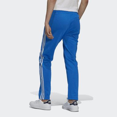 Muži Originals modrá Sportovní kalhoty Adicolor Classics Beckenbauer Primeblue