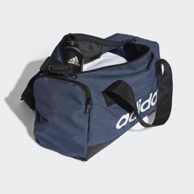 Gym & Training Blue Essentials Logo Duffel Bag Extra Small