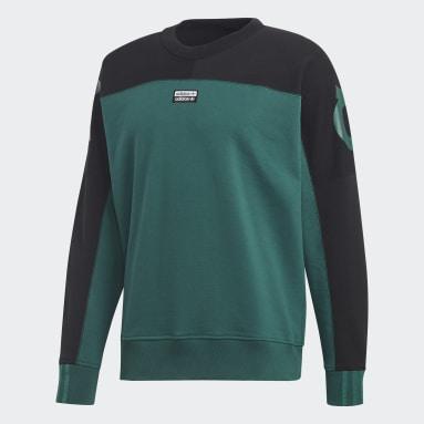 Men's Originals Green R.Y.V. Crewneck Sweatshirt