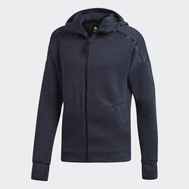 Hoodie adidas Z.N.E. Fast Release Grigio Uomo Sportswear