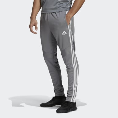 Men's Soccer Grey Tiro 19 Training Pants