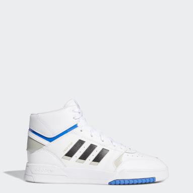 Men Originals White Drop Step Shoes