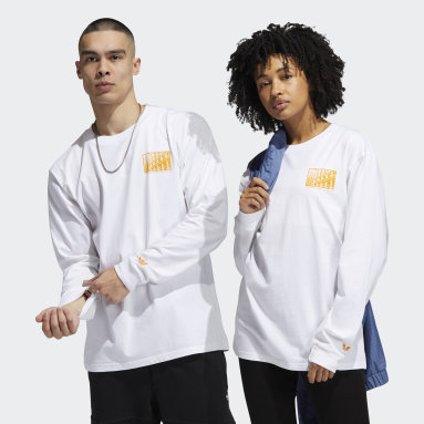 Originals O'Meally NYC Architecture Longsleeve – Genderneutral Weiß