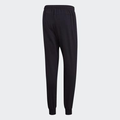 Pantalón Essentials Plain Tapered Stanford Negro Hombre Training